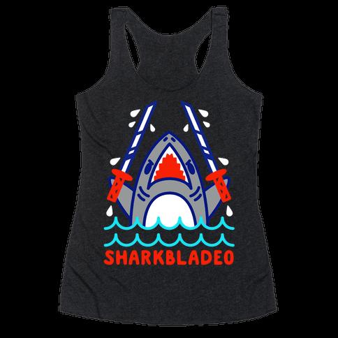 Sharkbladeo Racerback Tank Top