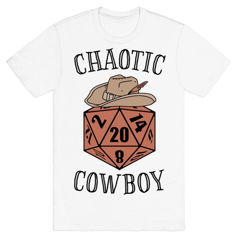 Chaotic cowboy T-Shirt