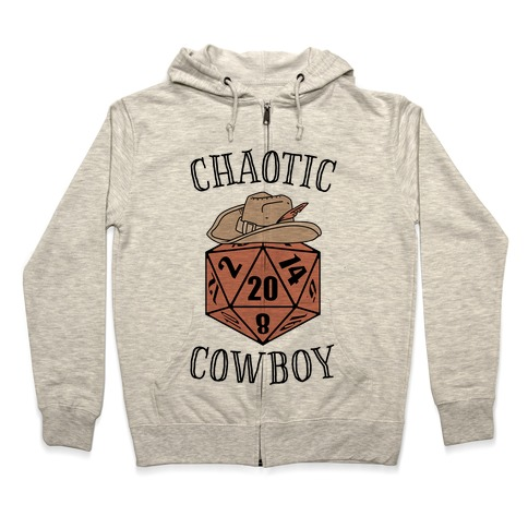 quite nice 76959 b494b Chaotic cowboy Hoodie | LookHUMAN
