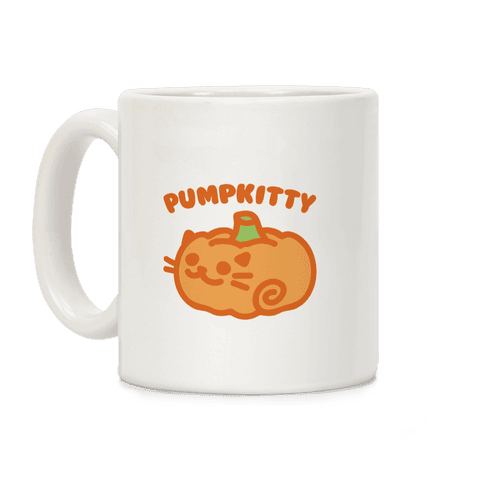 Pumpkitty Coffee Mug
