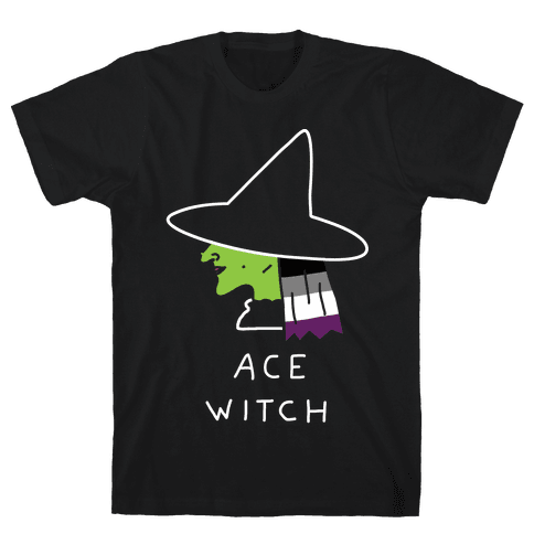 Ace Witch Mens T-Shirt