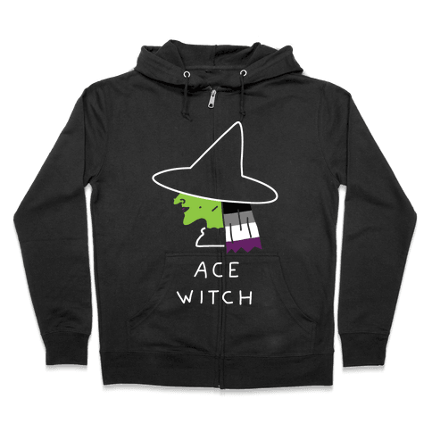 Ace Witch Zip Hoodie
