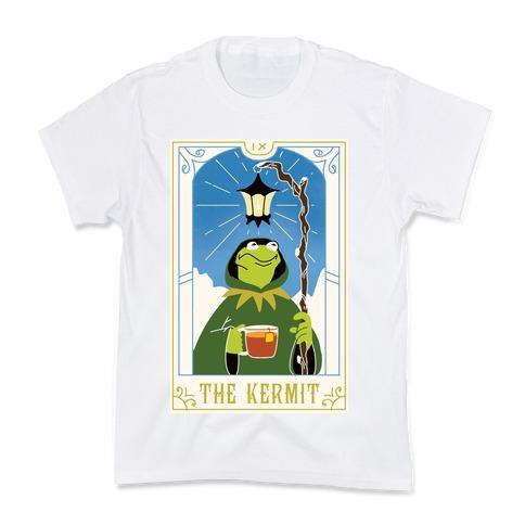 The Kermit Tarot Card Kids T-Shirt