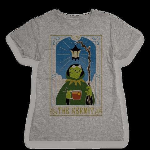 The Kermit Tarot Card Womens T-Shirt