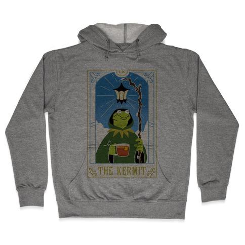 The Kermit Tarot Card Hooded Sweatshirt
