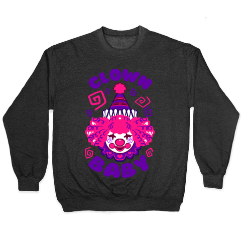 Clown Baby Pullover