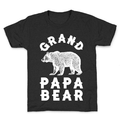 Grandpapa Bear Kids T-Shirt