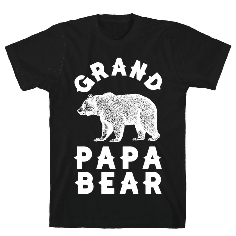 Grandpapa Bear Mens T-Shirt