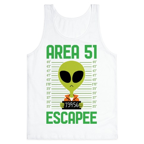 Area 51 Escapee Tank Top