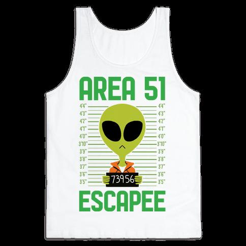 Area 51 Escapee Tank Top