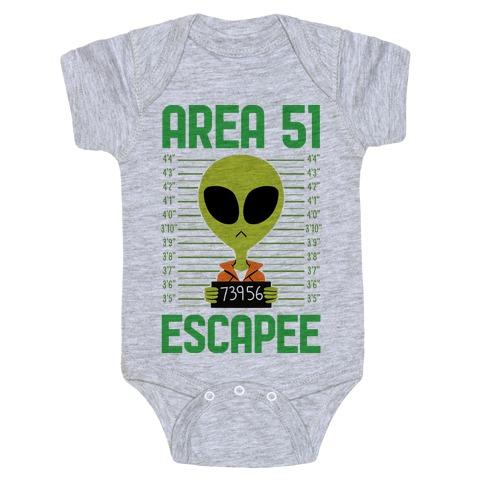 Area 51 Escapee Baby Onesy
