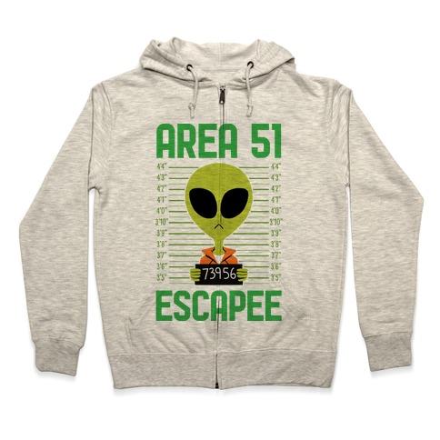Area 51 Escapee Zip Hoodie