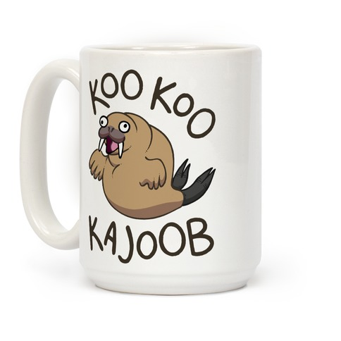 Koo Koo Kajoob Derpy Walrus Coffee Mug