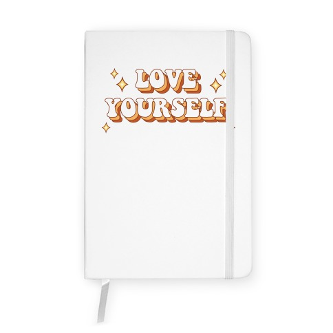 Love Yourself (groovy) Notebook