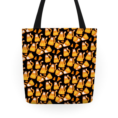 Candy Corn Cats Tote