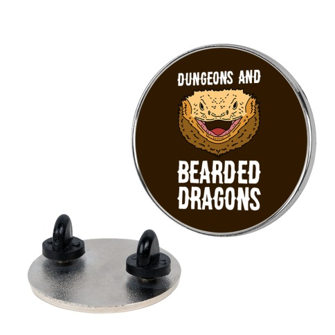 Dungeons And Bearded Dragons Pin