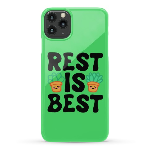Rest Is Best Phone Case