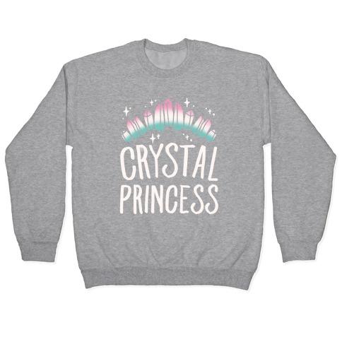 Crystal Princess White Print Pullover