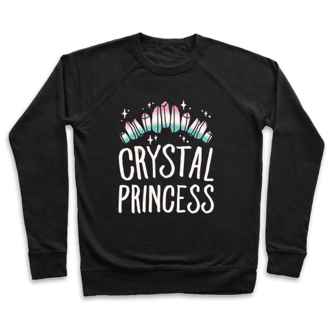 Crystal Princess White Print