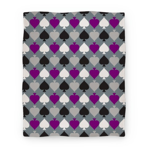 Ace Pride Pattern  Blanket