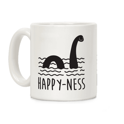 Happy-Ness Loch Ness Monster Coffee Mug