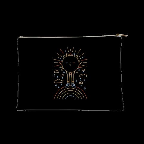 Solar Power Rainbow Accessory Bag