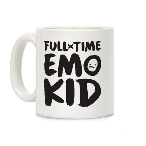 Full-time Emo Kid Coffee Mug