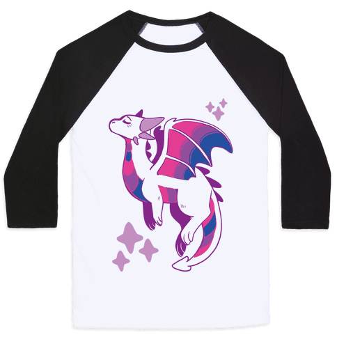 Bi Pride Dragon Baseball Tee