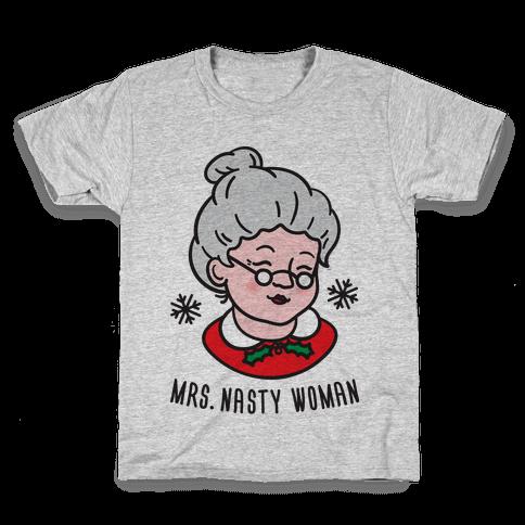 Mrs. Nasty Woman Kids T-Shirt
