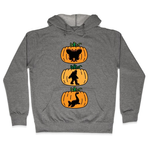 Cryptid Carvings Hooded Sweatshirt