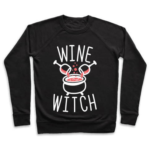 Wine Witch (White) Pullover