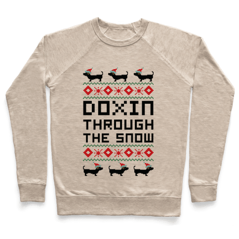 Doxin Through the Snow Pullover
