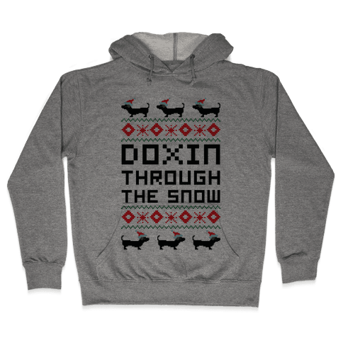Doxin Through the Snow Hooded Sweatshirt