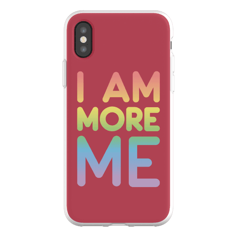 I Am More Me Phone Flexi-Case