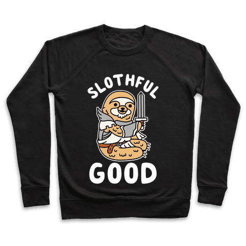Slothful Good Sloth Paladin Pullover