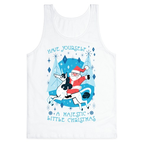 Have Yourself A Majestic Little Christmas Tank Top