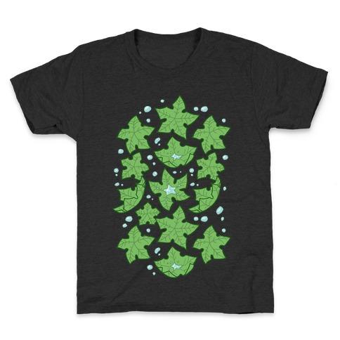 Tree Star Pattern Kids T-Shirt