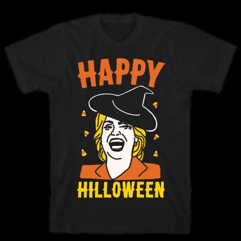 Happy Hilloween White Print