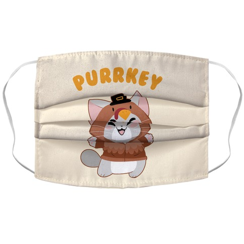 Purrkey Accordion Face Mask