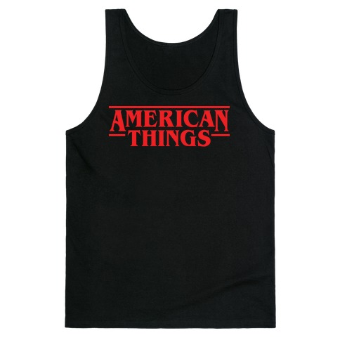 American Things Tank Top