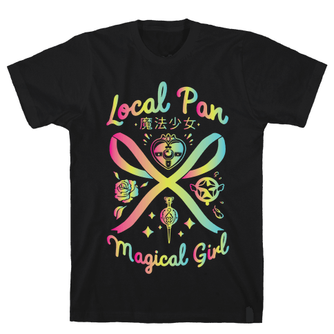 Local Pan Magical Girl Mens/Unisex T-Shirt
