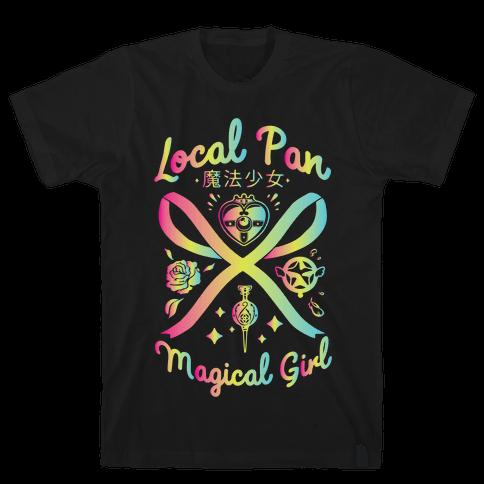 Local Pan Magical Girl Mens/Unisex T-Shirt