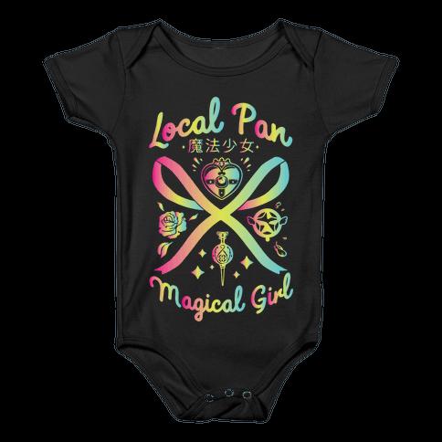 Local Pan Magical Girl Baby Onesy