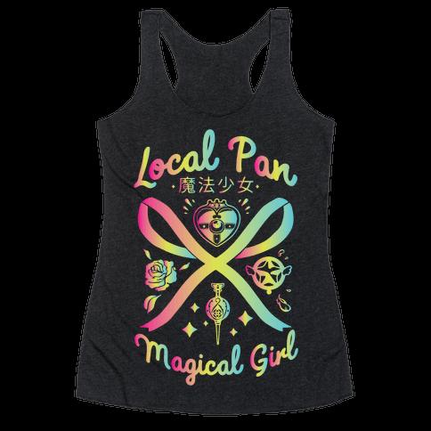 Local Pan Magical Girl Racerback Tank Top