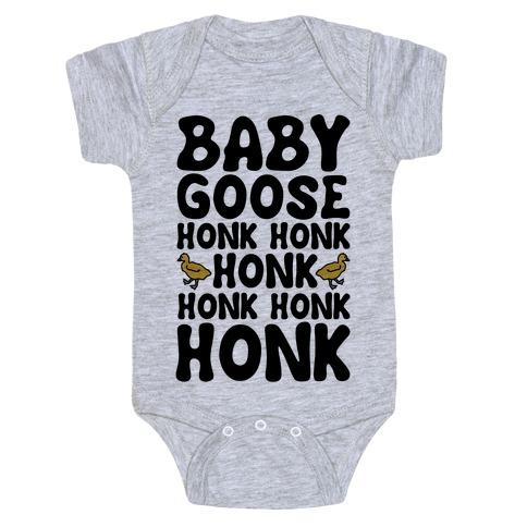 Baby Good Honk Honk Honk Parody Baby Onesy