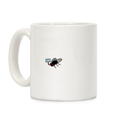Vote Blue Fly Coffee Mug