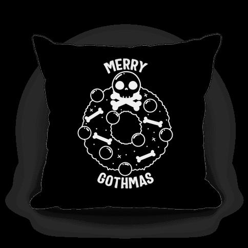 Merry Gothmas Pillow