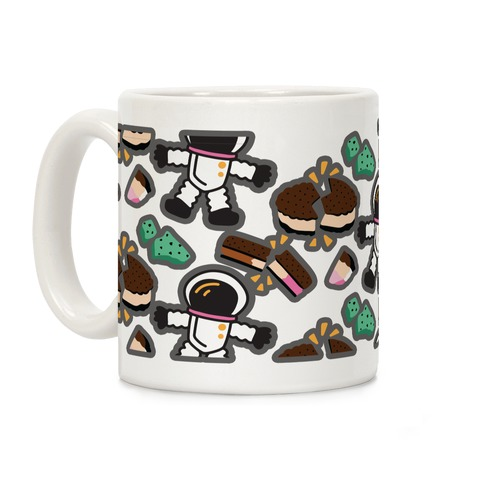 Astronaut Ice Cream Pattern Coffee Mug