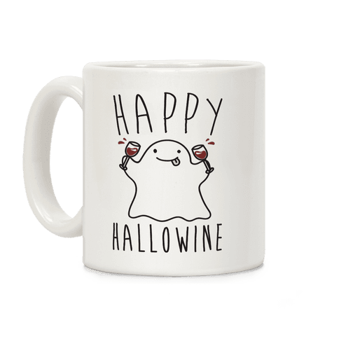 Happy Hallowine Coffee Mug