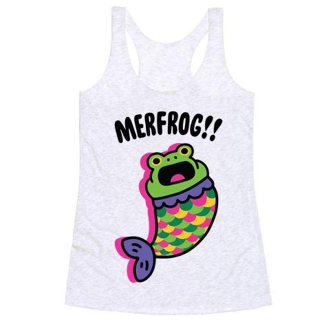 MerFrog!! Pattern Racerback Tank Top
